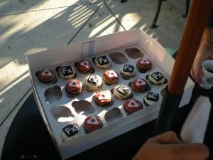 Flex cupcakes!